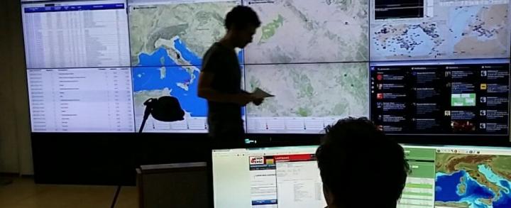 CdG sala controllo sismica