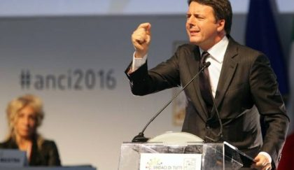 "Renzi: ""L' Italia ha futuro"""