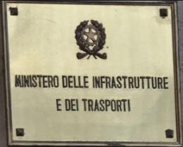 CdG Ministero Infrastrutture targa