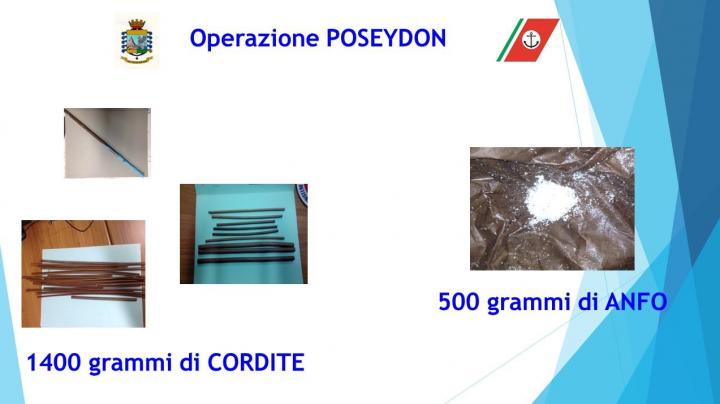 CdG operazione poseydon_cordite
