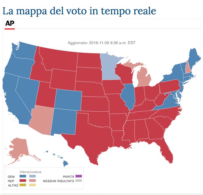 CdG mappa voto USA