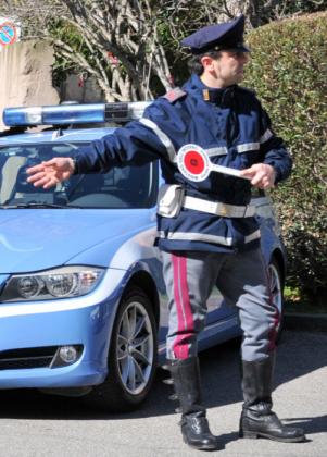 CdG controlli polizia stradale