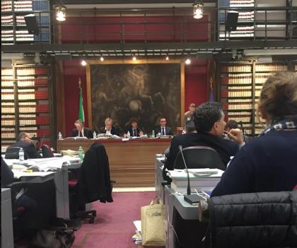 CdG commissione bilancio