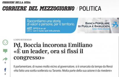 CdG cormez intervista Boccia