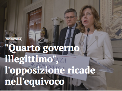"Fact-Checking: continuano le ""bufale"" grilline !"