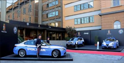Una nuova flotta di vetture Jeep e Alfa Romeo per la Polizia di Stato