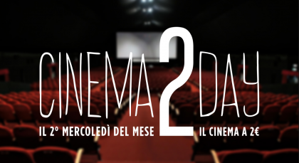 Cinema, con Cinema2day domani si torna in sala a 2 €uro