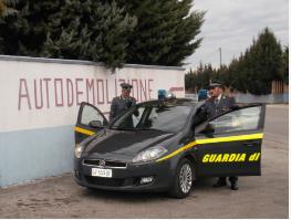 Guardia di Finanza: sequestrati beni  per 111mila euro a società di Crispiano (TA)