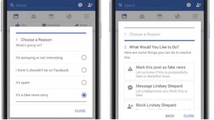 """Facebook dichiara """"guerra"""" alle bufale. Finalmente !"""