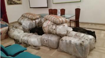 Sequestrati dai baschi verdi 510 kg marijuana nel Salento
