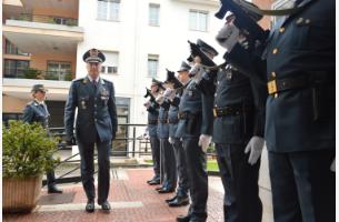 Visita del Comandante Regionale Augelli alla Compagnia della Guardia di Finanza a Martina Franca