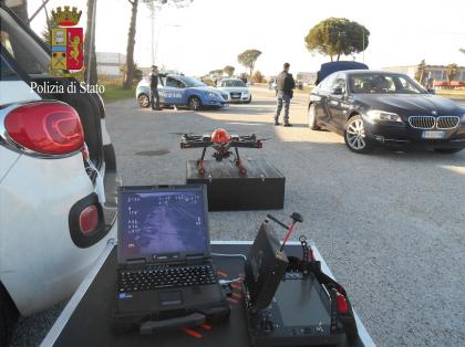 Sperimentazione impiego Droni per attività di controllo del territorio