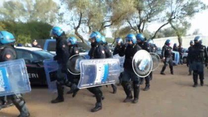 Gasdotto Tap. Blitz delle forze dell ordine nel Salento, per la messa in sicurezza degli ulivi
