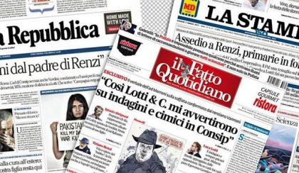 Caso Consip, giornali e tv faranno mea culpa?