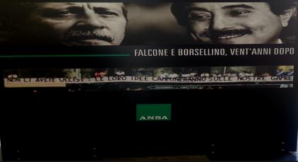 """Legalità. Presidente Grasso a Palermo per la mostra """"Falcone e Borsellino, vent'anni dopo"""""""
