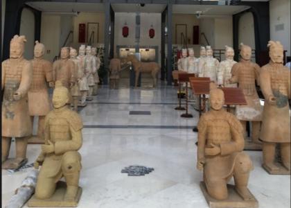I Guerrieri di Terracotta del Grande Imperatore cinese QIN a Bari