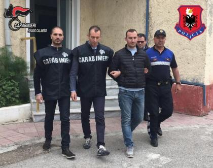 Arrestato dai Carabinieri un latitante internazionale in Albania
