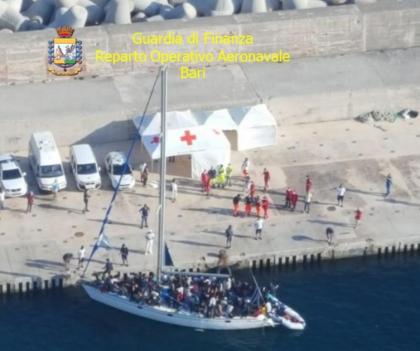 Nuovo sbarco ad Otranto, a bordo quasi tutti minorenni