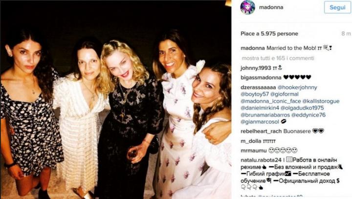 Madonna in Puglia per festeggiare 59esimo compleanno
