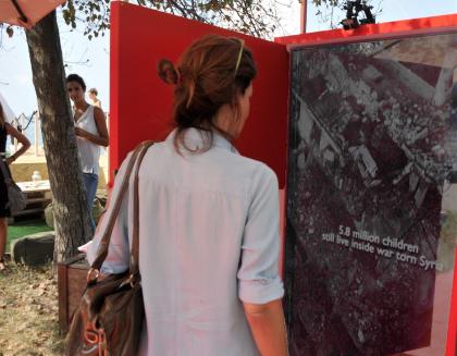 74aMostra del Cinema di Venezia, Gabriele Salvatores racconta per Save the Children il dramma dei bambini siriani