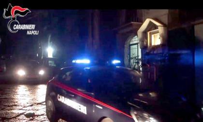 Napoli, rione sanità: riunione notturna di malavitosi interrotta dai Carabinieri