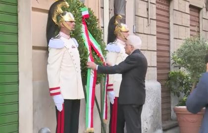 35 anni fa l'agguato mortale al generale Dalla Chiesa. Mattarella lo ricorda con i figli a Palermo
