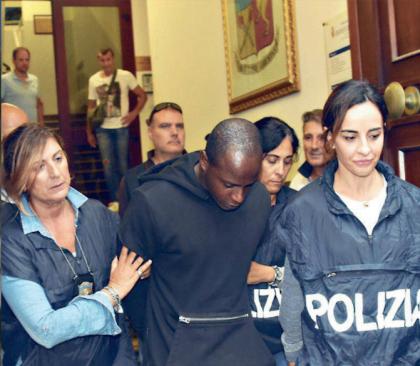 Il ruolo delle poliziotte nell'arresto del congolese accusato degli stupri di Romini