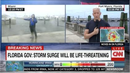 Uragano Irma: l'oceano invade Miami come in un film di fantascienza