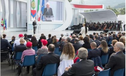Anche il 'Leardi' a Taranto per l'inaugurazione dell'anno scolastico