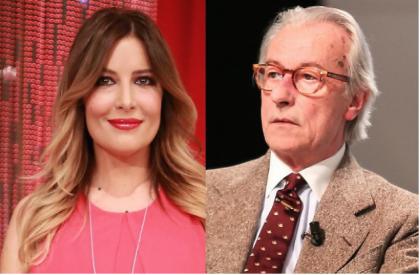 """La polemica sull'età. Vittorio Feltri risponde a Selvaggia Lucarelli: """"Per te sono un nonno rincoglionito, tu non dici mai niente, ma lo fai bene"""""""