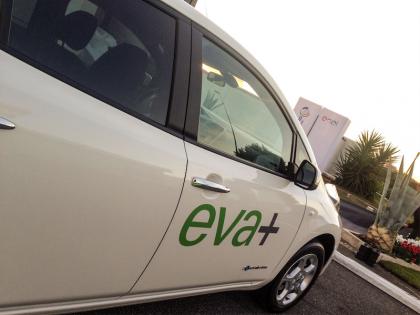 Progetto EVA+: inaugurata a Roma la colonnina di ricarica veloce presso la stazione di rifornimento di Selva Candida