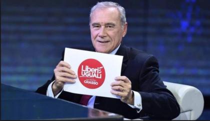 """""""Liberi & Uguali"""" ? Dallo stipendio del presidente del Senato Pietro Grasso, non si direbbe ! Guadagna più di Mattarella"""