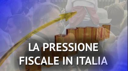 Nel 2017  ridotta leggermente la pressione fiscale sulle famiglie italiane