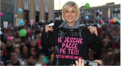Nadia Toffa è cittadina onoraria di Taranto