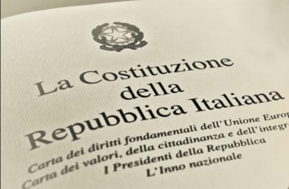 """""""Valori, principi e regole"""" contenuti nella Costituzione italiana"""" la riflessione dell' ANCRI"""