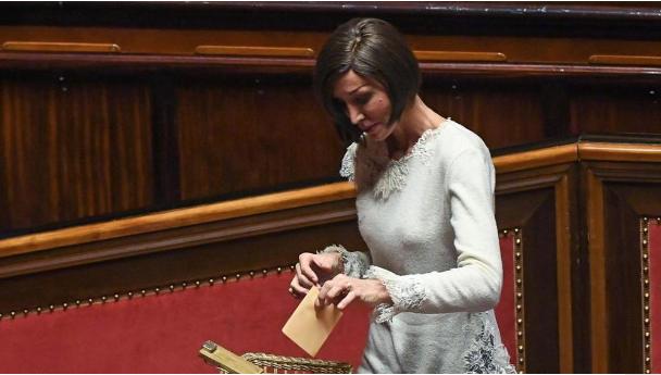 La senatrice di Forza Italia Anna Maria Bernini
