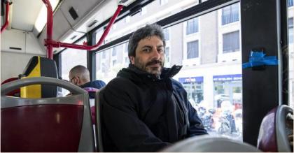 Il presidente della Camera Fico sul bus, ma nel 2017 lo aveva preso solo 15 volte