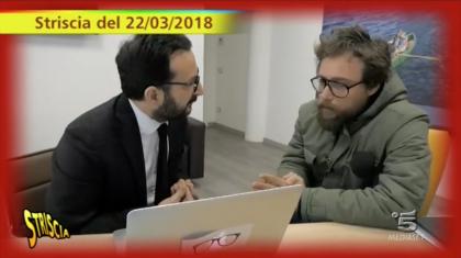 """Continua la """"tele-bufala"""" di Michele Mazzarano (Pd) che cerca di contraddire """"Striscia la Notizia"""""""