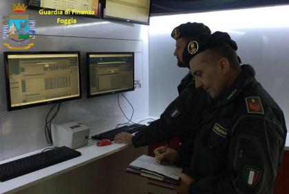 La Guardia di Finanza contrasta il fenomeno del gioco illegale e scommesse clandestine in Puglia