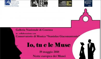 """Notte europea dei Musei: """"Io, tu e le Muse"""" alla Galleria Nazionale di Cosenza"""