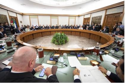 """Il Presidente Mattarella alla seduta straordinaria del """"plenum"""" del Consiglio Superiore della Magistratura"""