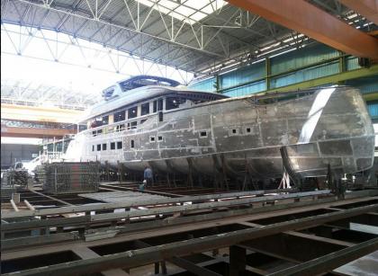 Varato il mega yacht San Lorenzo realizzato dalla Sicmi Sea Style