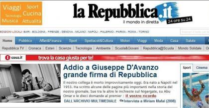 In ricordo di un grande amico: il giornalista Peppe D'Avanzo