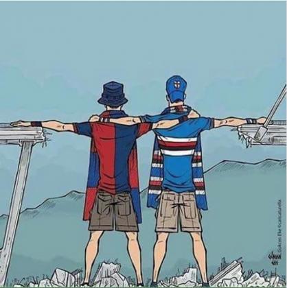 Genova per noi.