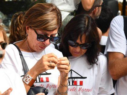 "Genova ""ground zero"", un mese dopo la tragedia del ponte Morandi"