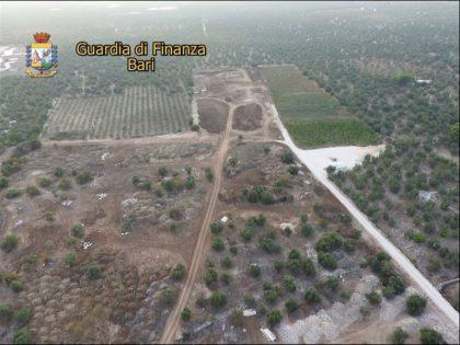 La Guardia di Finanza sequestra a Bari una discarica abusiva di 60mila metri quadrati