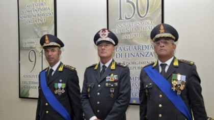 Il Colonnello Ernesto Bruno è  il nuovo comandante provinciale della Guardia di Finanza a Foggia