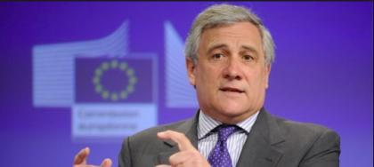 Tajani attacca M5s: reddito di cittadinanza ? Favorira' il lavoro nero. E' soltanto propaganda