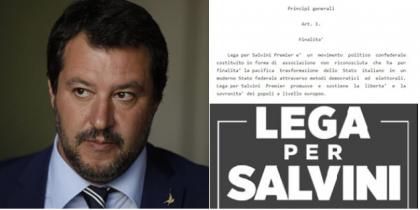 Salvini vara la nuova Lega: scompare dal simbolo Alberto da Giussano