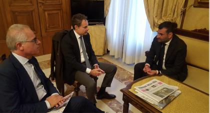 Il sindaco di Bari incontra vertice Ferrovie SudEst per condividere progetti su Bari